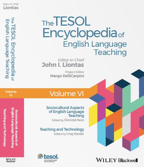 Cover of TESOL Encyclopedia of ELT
